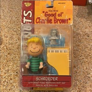 Peanuts Schroeder and Piano Figurine